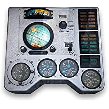 Wallmonkeys Spaceship Control Panel Wall Mural Peel and Stick Graphic (24 in W x 19 in H) WM29313