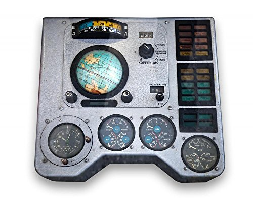 Spaceship Control Panel Peel and Stick Wall Decals (18 in W x 14 in H), Small ()