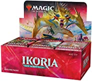 Magic: The Gathering Ikoria: Lair of Behemoths Draft Booster Box | 36 Draft Booster Packs (540 Cards + Box Topper) | Factory
