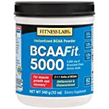 Fitness Labs BCAA Fit 5000, 2:1:1 Ratio, 340 Grams For Sale