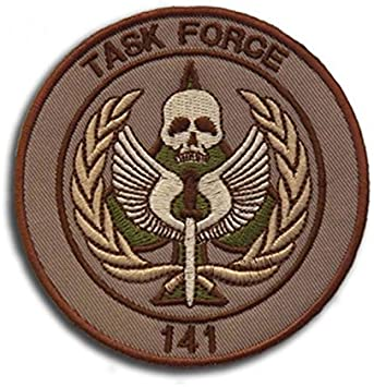 Taskforce 141 Brod/é Airsoft Morale Patch