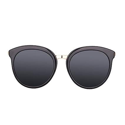 KAI LE Gafas de Sol Nuevas Gafas de Sol Polarizadas Femeninas Marea Femenina Redonda Ojos de