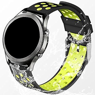 Elespoto Reloj Inteligente Smart Watch 22mm Silicona Banda de ...