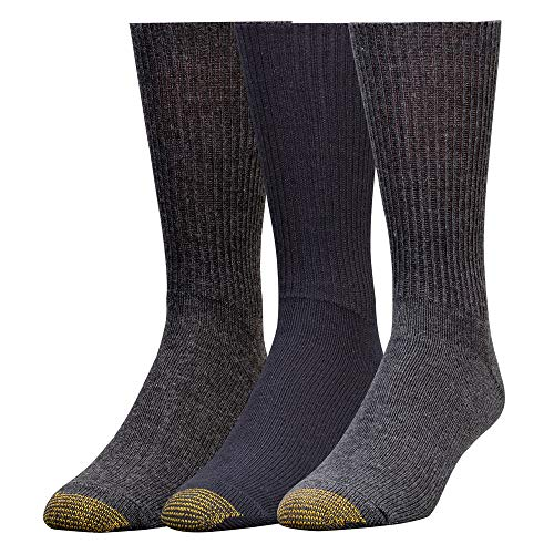 - Gold Toe Men's Fluffies 3 Pack Casual, Assorted, Sock Size: 10-13/Shoe Size:9-11