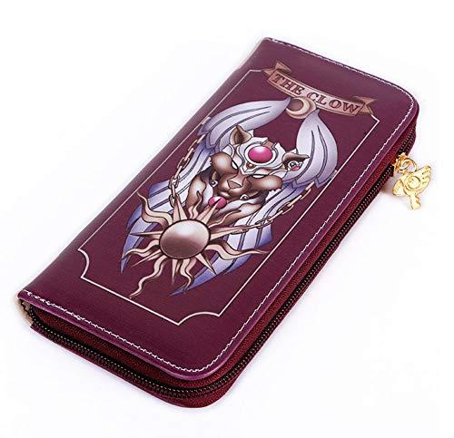 Gumstyle Cardcaptor Sakura Anime Zipper Wallet Long