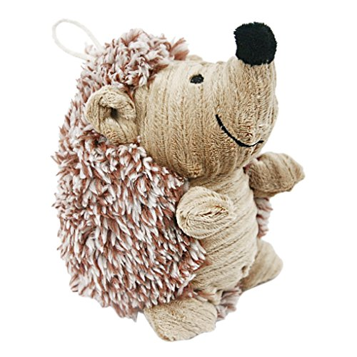 s Plush Hedgehog Dog Toy Giggler Squeak Chew Toy Molar Teeth Cleaning Stuffed Doll Squeaky Pet Toys Biting Training Playing Toys for Small and Medium Dogs Puppy Christmas Toys (Shih Tzu Poodle Puppies)