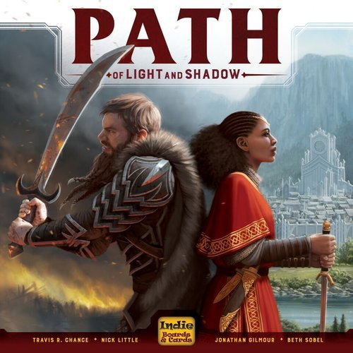 Indie Boards & Cards Path of Light and Shadow Board Games by Indie Boards & Cards