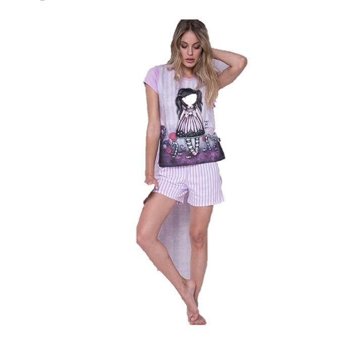 Gorjuss - Pijama - para mujer multicolor 6 años