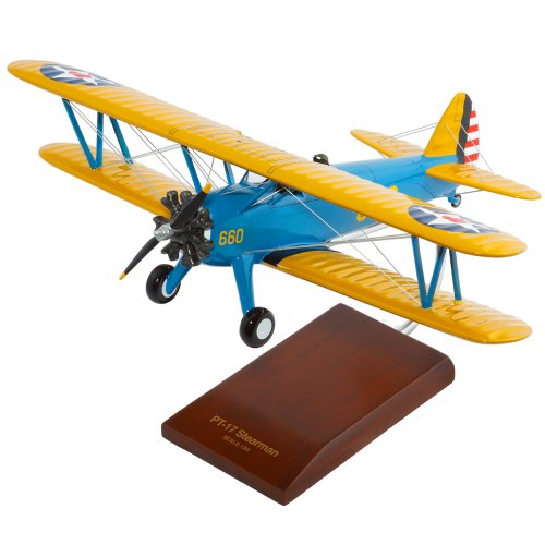 Mastercraft Collection Boeing PT-17A Stearman Kaydett Model Scale:1/24