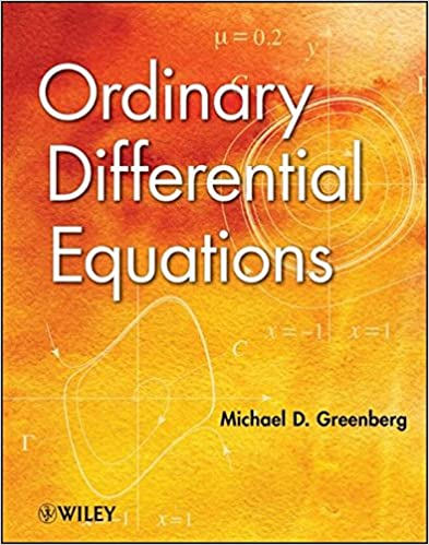 Ordinary differential equations michael d greenberg 9781118230022 ordinary differential equations 1st edition fandeluxe Image collections
