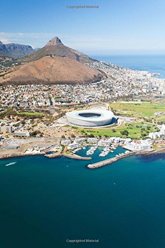 Aerial View of Cape Town South Africa Journal: 150 Page Lined Notebook/Diary (Aerial View Of Cape Town South Africa)