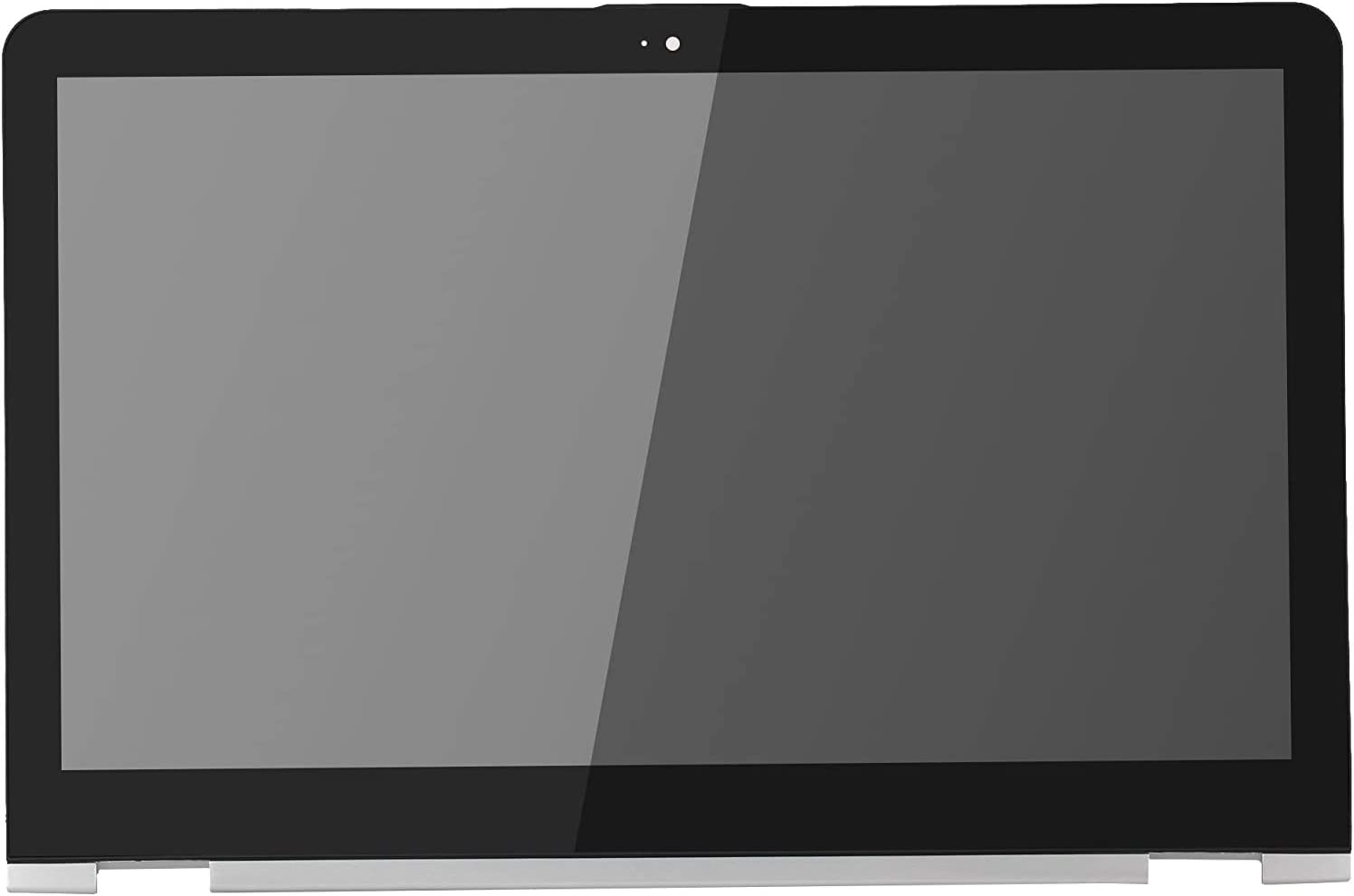 Screen Replacement LCD Display Touch Screen Digitizer Assembly with Silver Bezel + PCB Control Board fit HP Envy X360 M6-AQ105DX M6-AQ103DX M6-AR M6-AR004DX