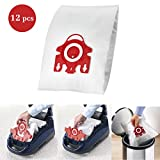 For Miele FJM Vacuum Bags 12PCS, I-clean Replacement AirClean 3D...
