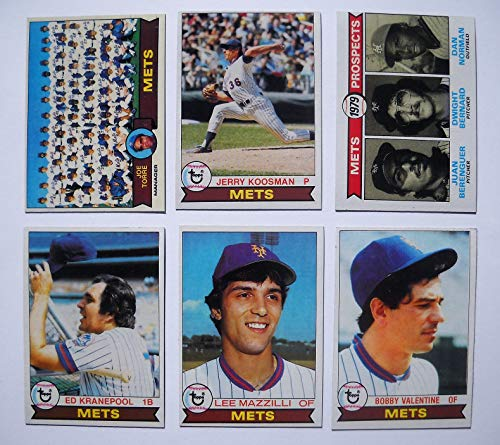 1979 Topps New York Mets Complete Team Set (27 cards) Near Mint NM