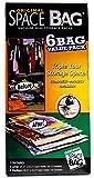 Original Space Bag Vacuum-Seal Storage Packs 6 Bag Value Pack