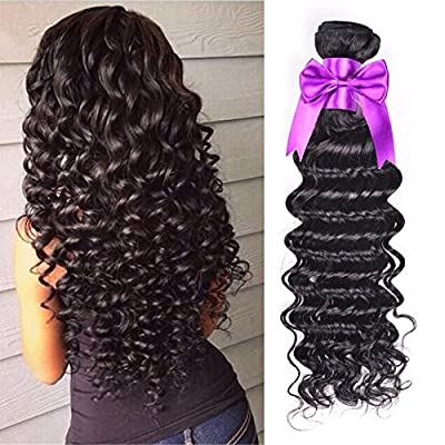 10A Brazilian Deep Wave Virgin Hair 100% Brazilian Human Hair Weave 4 Bundles Cheap Brazilian Curly Virgin Hair Brazilian Deep Wave