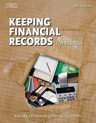 Financial Records (Keeping Financial Records for Business)