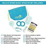 Womb Music Deluxe Pregnancy Headphones for Belly