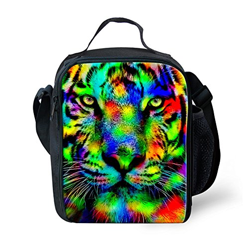 Bag lunch Shoulder Unisex CHAQLIN Horse Bag Small Body Cross Tiger Messenger Cool Bag Sling Ug1CwFUq