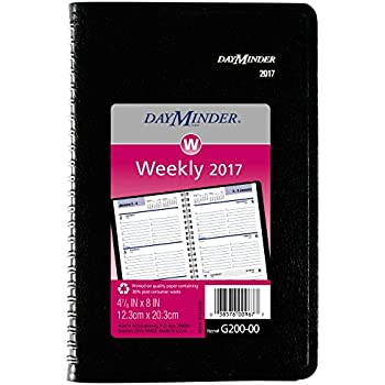 AmazonCom  Dayminder Weekly Planner  Appointment Book