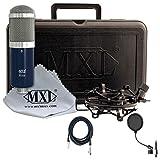 MXL R144 Studio Ribbon Microphone + Pop Filter