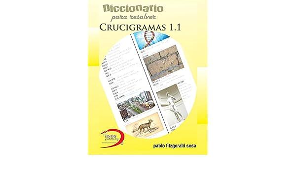 Diccionario para resolver crucigramas 1.1 eBook: Sosa, Pablo ...