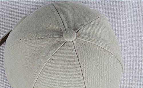 Cuero La Etiqueta Blanco De Verde Gorra Primavera Gorra Otoño Béisbol De De Con Adecuado y Verano Para Algodón De Adultos Para WfBvW8qO4