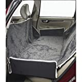 Luxury Seat Cover for Back Seat/Bench Color: Thunder