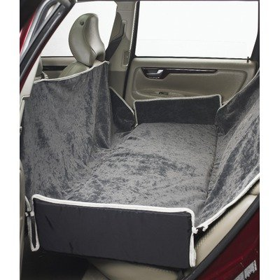Luxury Seat Cover for Back Seat/Bench Color: Thunder by Bowsers