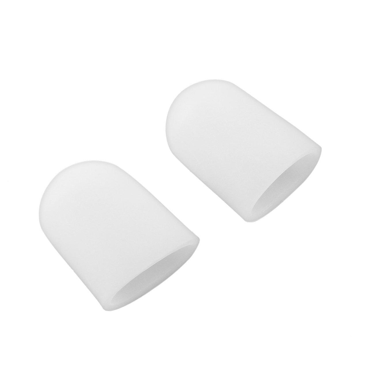2 pz Silicone Gel Toe Tube Toe Caps Toe Cuscini Piede Mais Remover Finger Toe Proteggi Massager Del Corpo Solette Health Care Dooret