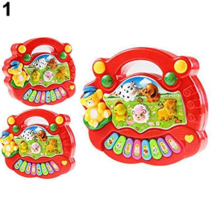 Baby Kids Musical Educational Animal Farm Piano Developmental Music Toy Gift HOT