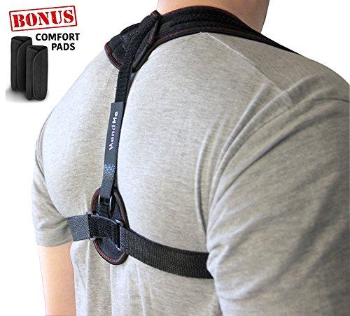 Back Posture Corrector Brace for Women & Men - Support, Adjustable Straps,...