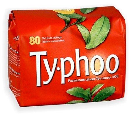 Typhoo Tea Bags - 80 Pack from Typhoo