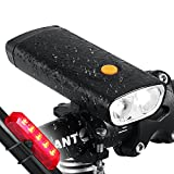 Best Bicycle Lights 5000 Lumens Rechargeables - d Powerful 1000 Lumens USB Rechargeable Bike Light Review