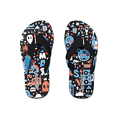 SOLETHREADS Doodle | Uber Cool | Fun | Colourful | Hip | Flip Flops for Kids