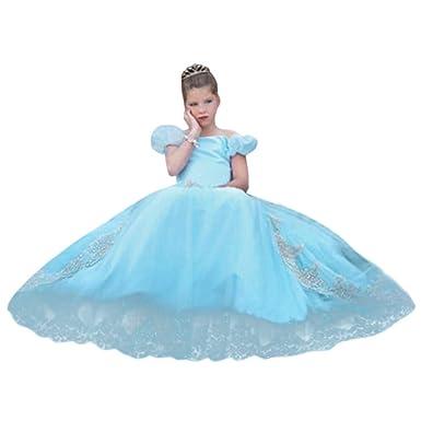 bdad70b09902 Oliviavan Vestiti da Ragazza di Fata del Vestito dalla Principessa del  Vestito Operato dal Costume delle Ragazze dei Capretti Bambina Fiore Ragazze  Vestito ...