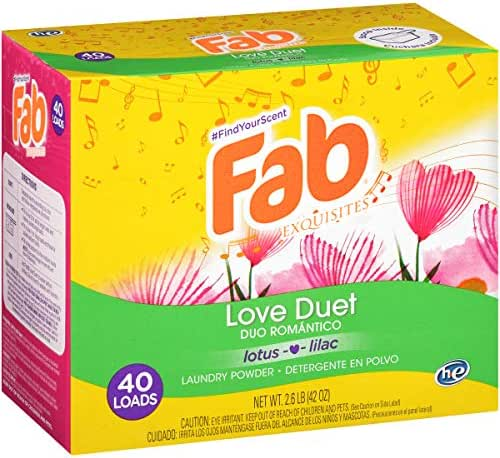 Laundry Detergent: Fab
