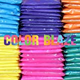 25 Assorted Color Powder Packets - Ideal for color run events, youth group color wars, Holi events and more! offers