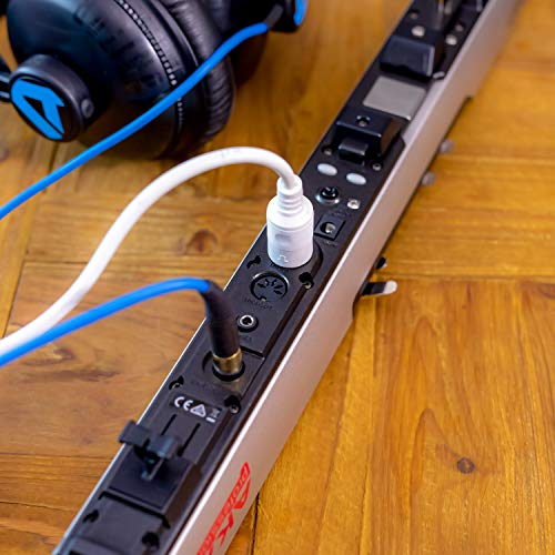 Akai Professional EWI4000S | Electronic Wind Instrument MIDI Controller with Built-In Sound Module, Headphone Jack & MIDI I/O