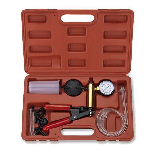 Price comparison product image Tooluxe 40519L 2-in-1 Brake Bleeder & Vacuum Pump Test Tuner Kit