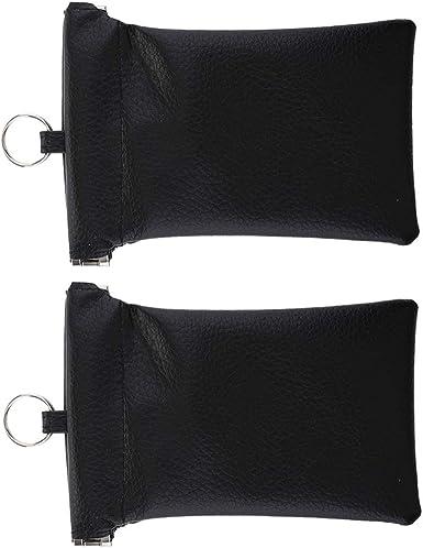 2 X Car Key Fob Signal Blocker Case Keyless Entry Pouch Guard RFID Bag Cage