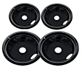Porcelain Drip Pan Set Replacement for Frigidaire Kenmore 5304430150, 318067051, 318067051