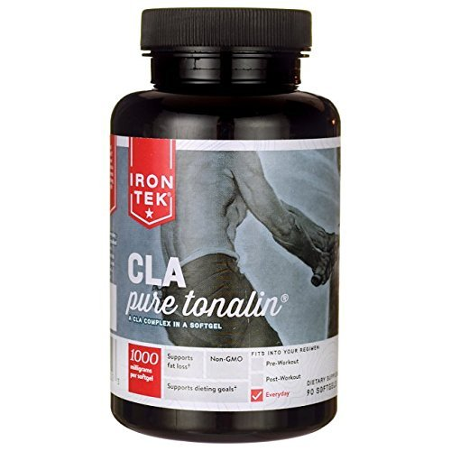 Iron Tek Essential CLA Pure Tonalin Complex 1000 mg, 90-Count