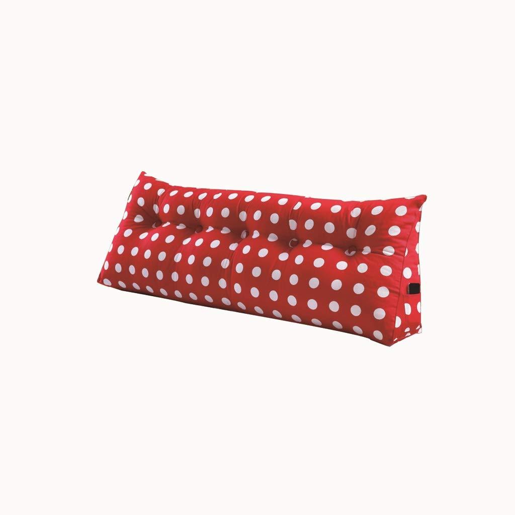LHOME Taie d'oreiller de lit Souple Grand lit arrière Lit Double Couverture de lit en Tissu Amovible et Lavable (Taille : 180 * 50 * 20cm)