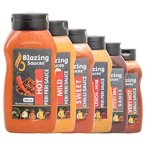 Blazing Blends Sauzen verpakking van (6 x 500ml)