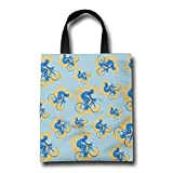 Bicycle Cycling Bike Gift Bags Heavy Year Reusable Grocery Tote Shopping Bag