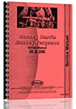 Massey Harris 20K Tractor Service Manual