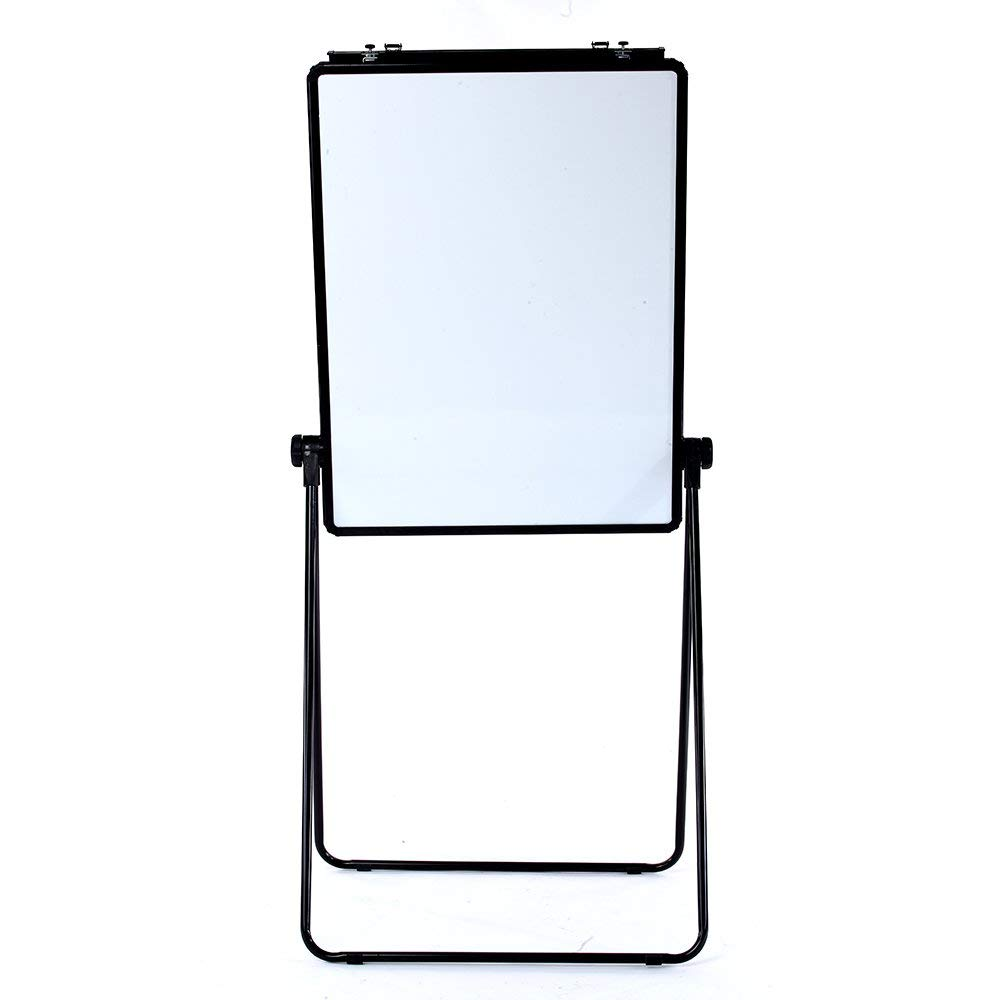 VIZ-PRO ECO Magnetic U-Stand Whiteboard/Flipchart Easel, 28 X 36 Inches, Black (Renewed) by VIZ-PRO