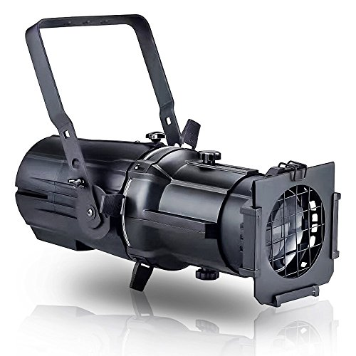 Zita Lighting DMX512 150W High Power COB Ellipsoidal Light Stage LED Spotlight Stage Live Show Imaging Lighting Triangle Quadrilateral Circle for Theatre Stage Party