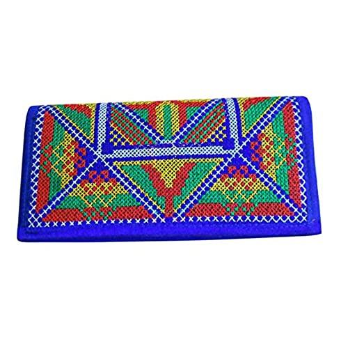 Traditional Embroidered Women Clutch Bag Purse Girls Wallet Indian Kcib12